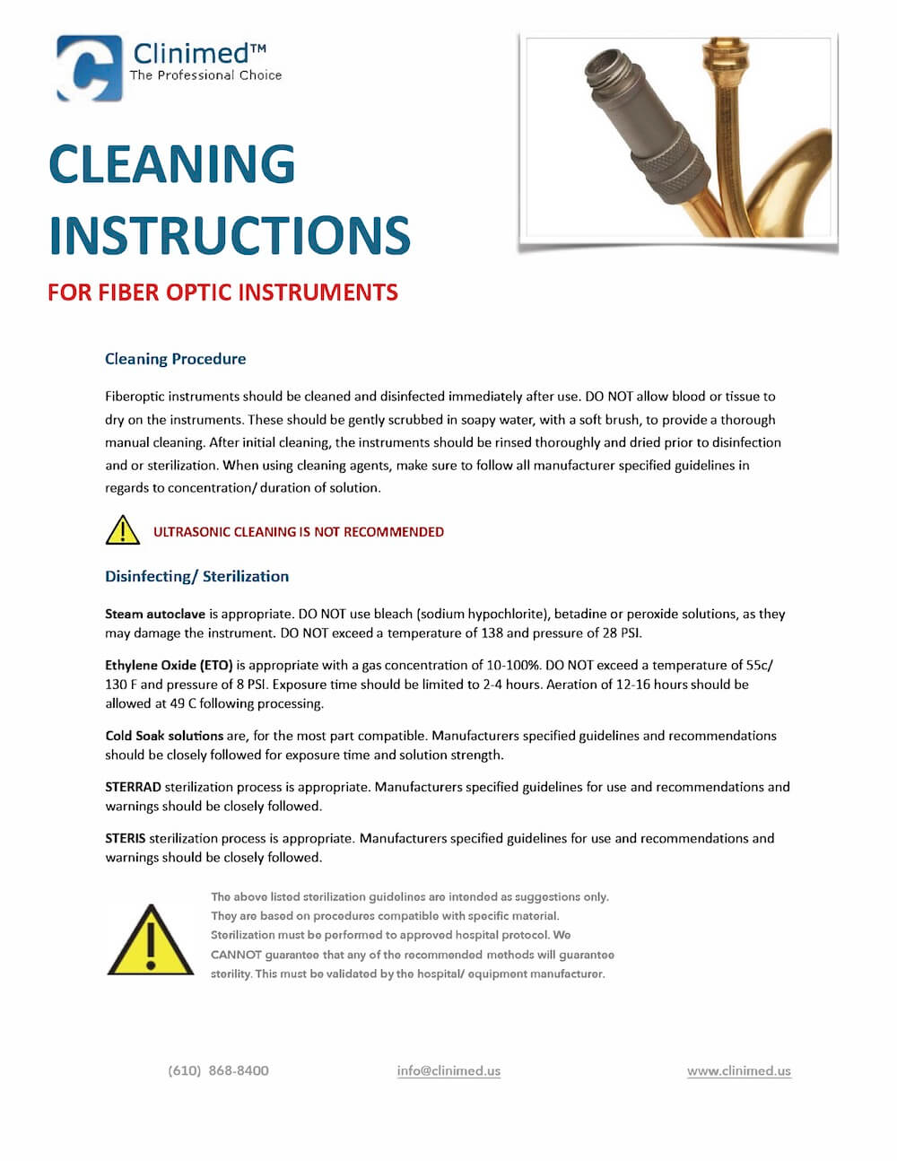 CLINIMED-Cleaning-Instructions-for-Fiber-Optic-Instrumentation