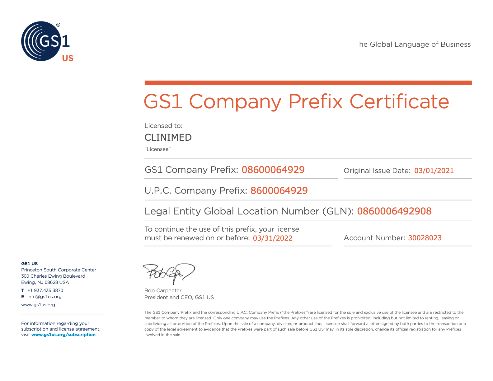 PrefixCertificate08600064929