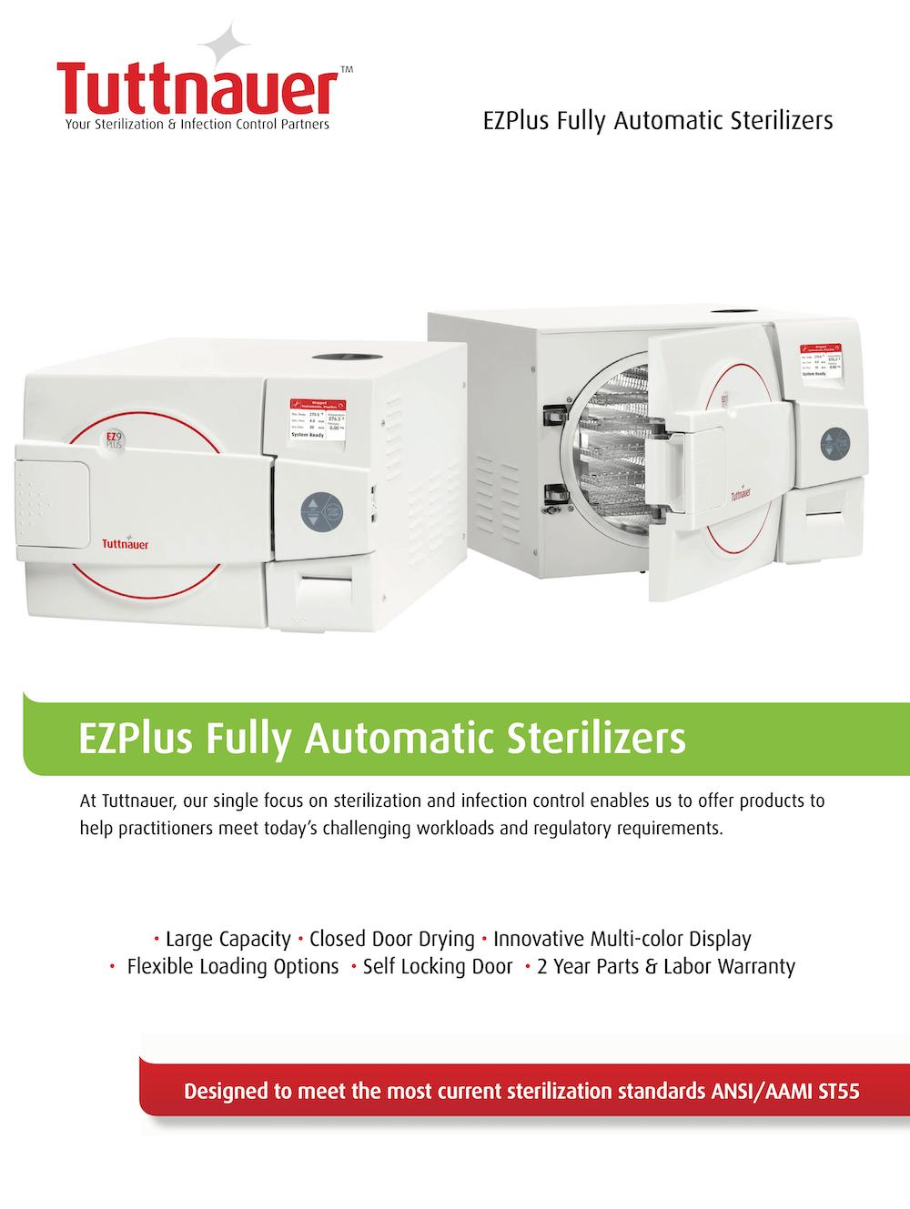 Tuttnauer-EZPlus-Fully-Automatic-Sterilizers